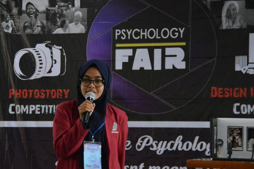 Mengharumkan Almamater, Susi Raih 2 Katagori Juara dalam Psikologi Fair Se-Jawa dan Bali