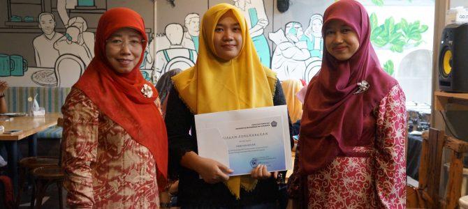 Nur Hasanah; Lulusan Terbaik Fakultas Psikologi