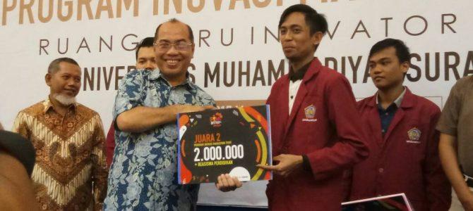 Pypill SID Raih Juara II, dalam Pekan Inovasi Mahasiswa