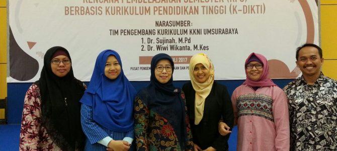 Dosen Fakultas Psikologi, ikuti Workshop Penyusunan RPS
